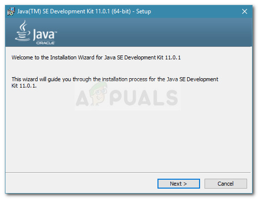 Installieren des Java Development Kits
