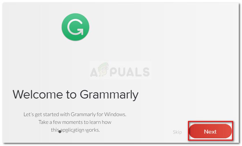 Grammatik-Trainingsbildschirme durchgehen