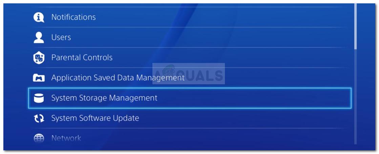 Zugriff auf den Bildschirm System Storage Management