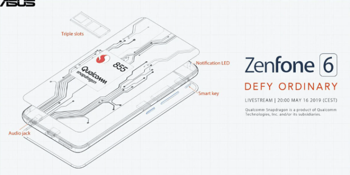 First Live Images Of The Upcoming Zenfone 6 Show an All Sceen Display With Slider Mechanism 2