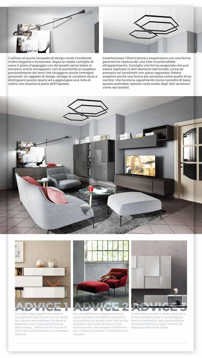 divani di varie tipologie e stili, salotti e poltrone con varie modalità di aggregazione, vasta scelta di file per tutte le necessità del progettista. Living Alessandra Picture Gallery 6