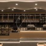 Modern Cafe Design Rock Cafe Comelite Architecture Structure And Interior Design