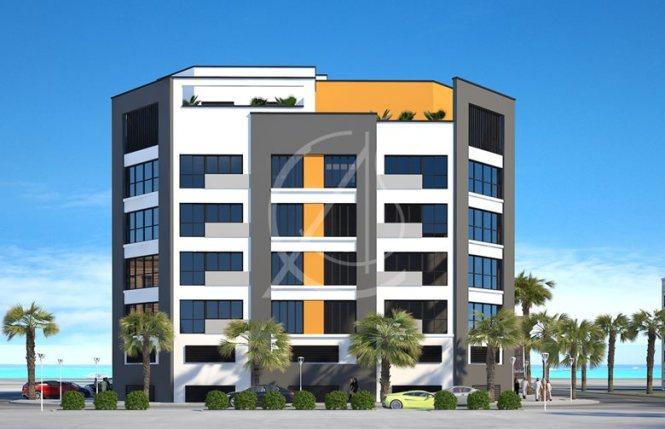 Apartment Contemporary Exterior Design