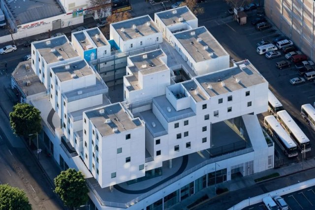 The Star Apartments by Michael Maltzan