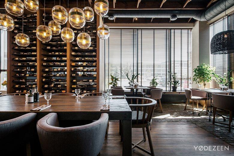 Italian Restaurant Semifreddo Yodezeen Architects