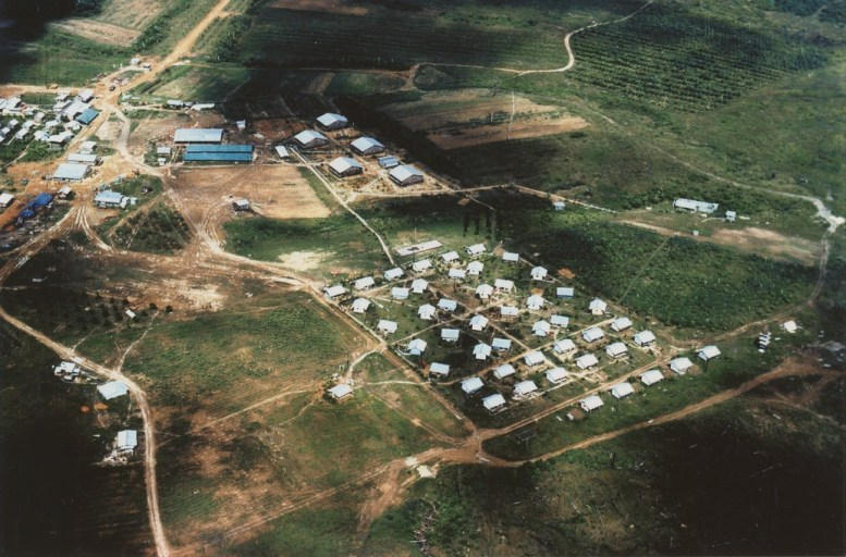 Jonestown from above. Credit: The Jonestown Institute