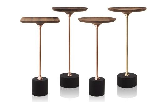 Side tables by Almeida. Image courtesy the designer.