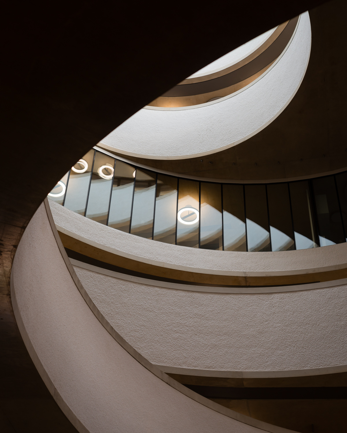Blavatnik School of Goverment by Herzog & De Meuron in Oxford UK. Courtesy of Jim Stephenson.