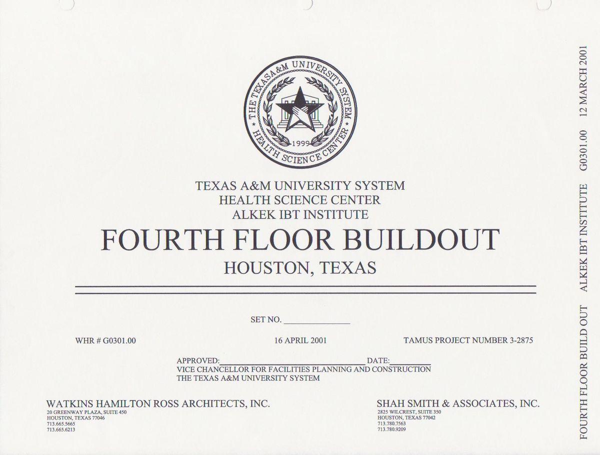 Texas A Amp M University Alkek Biotechnology Institute 4th