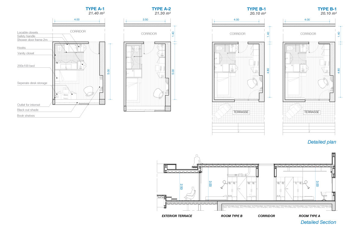 Proposal For Hotel Residence In Atacama By Lan Architecture