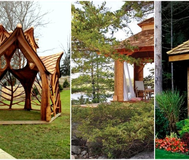 Cool And Free Diy Gazebo Plans Design Ideas To Build Right Now