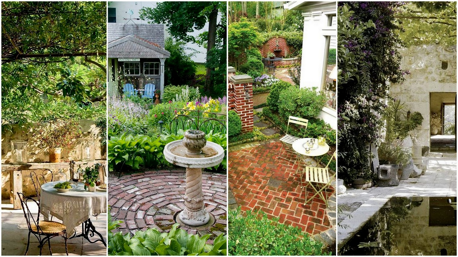 59 Cool Rock,Concrete & Brick Patio Ideas to Realize Now ... on Rock Patio Designs  id=91299