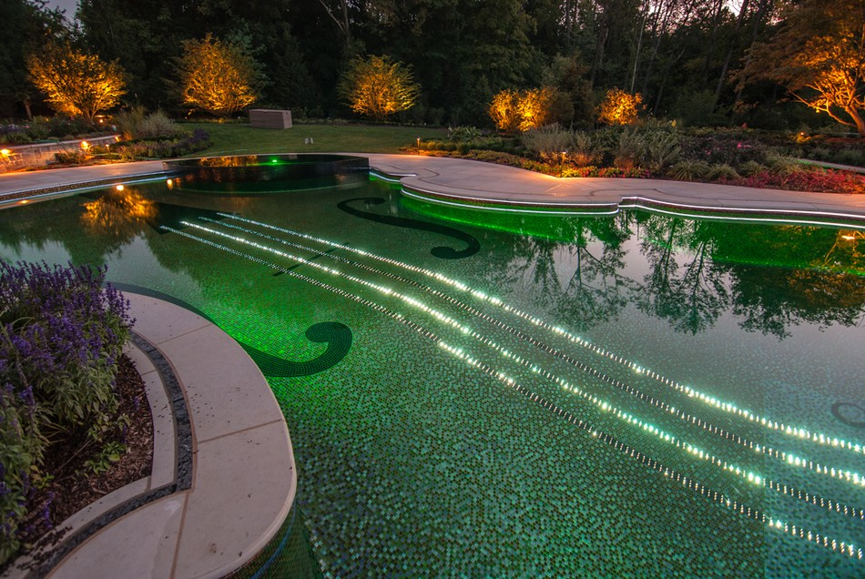 Dazzling Swimming Pool Replica Of An 18th Century