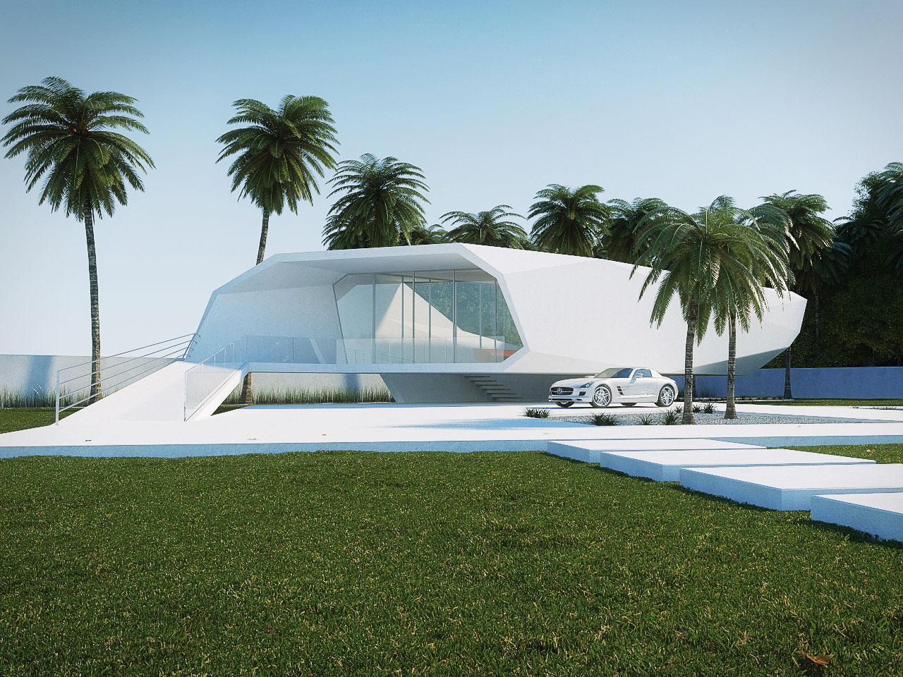 Wave House By Gunes Peksen Architecture Amp Design
