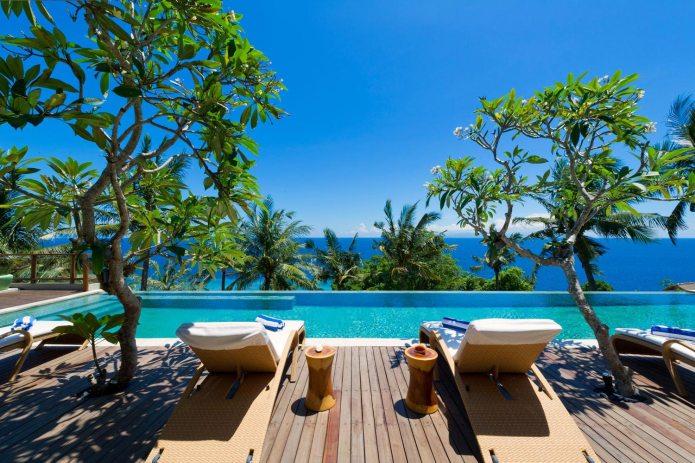 Malimbu Cliff Villa on Lombok Island, Indonesia ...
