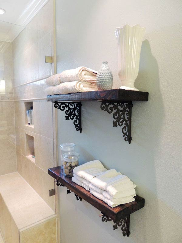 They like to make their. 30 Brilliant DIY Bathroom Storage Ideas | Architecture