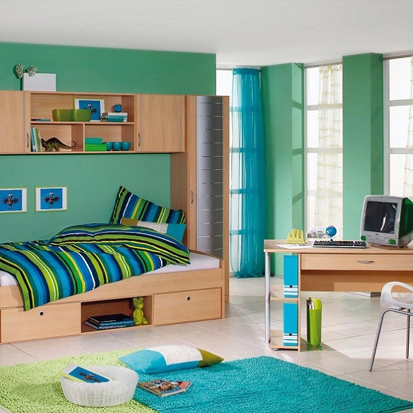 18 Small Bedroom Decorating Ideas | Architecture & Design on Small Bedroom Ideas For Boys  id=47605