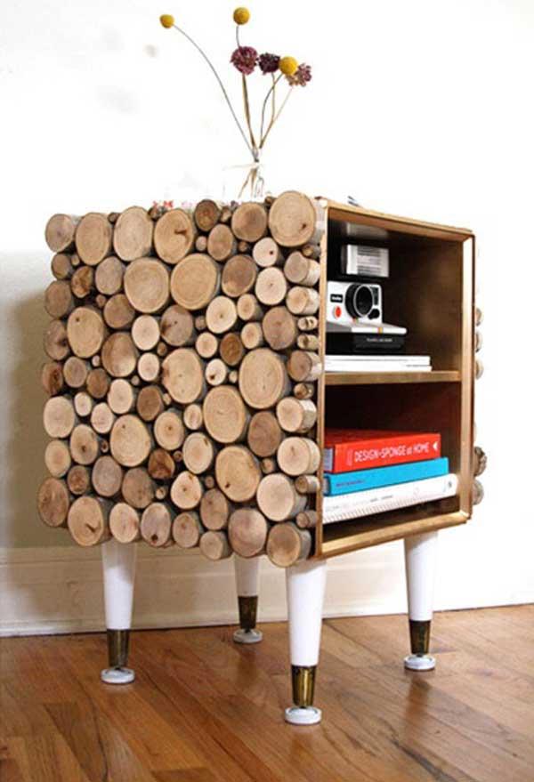 35 diy log ideas take rustic decor to