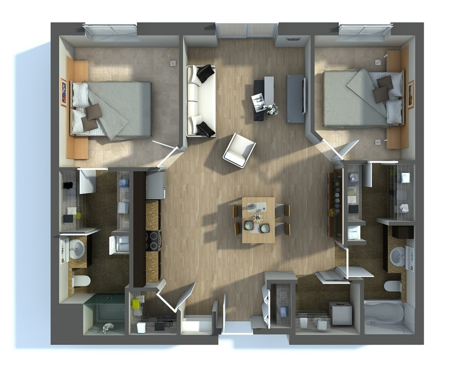 Astonishing Floor Plan Design For 2 Bedroom Flat Floorviews Co Interior Design Ideas Gentotryabchikinfo