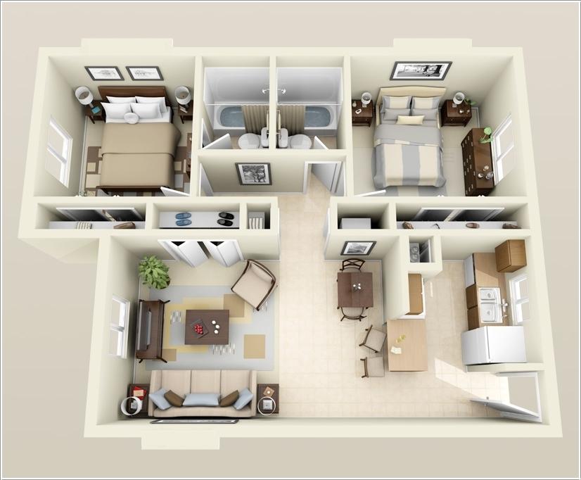 Image Result For  Bedroom Open Floor Plans