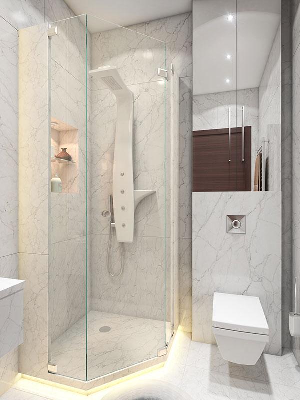 A Super Small (40 square meter) Home | Architecture & Design on Small Area Bathroom Ideas  id=66571