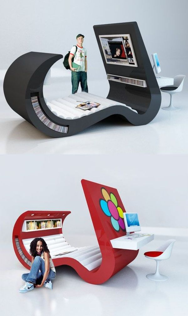 25 Cool Bedroom Designs To Dream About At Night on Teenage:rfnoincytf8= Room Designs  id=59449