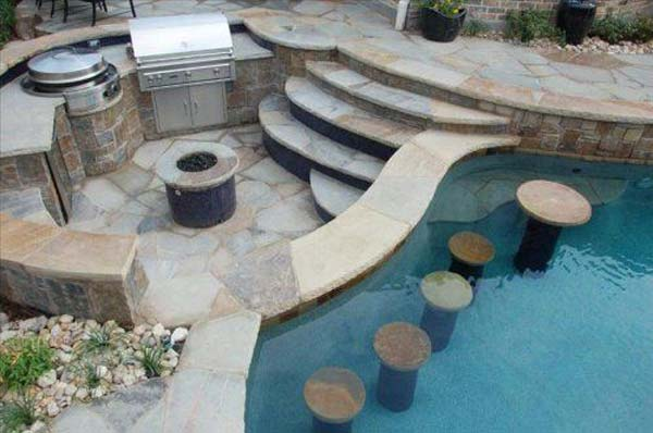 25 Summer Pool Bar Ideas To Impress Your Guests Architecture Amp Design
