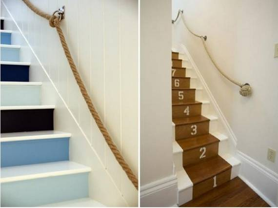 Top 25 Home Stairs Decorating DIY Projects Architecture
