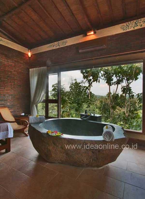 21 Natural Stone Bathtub Ideas For Your Classy Bathroom Architecture Amp Design
