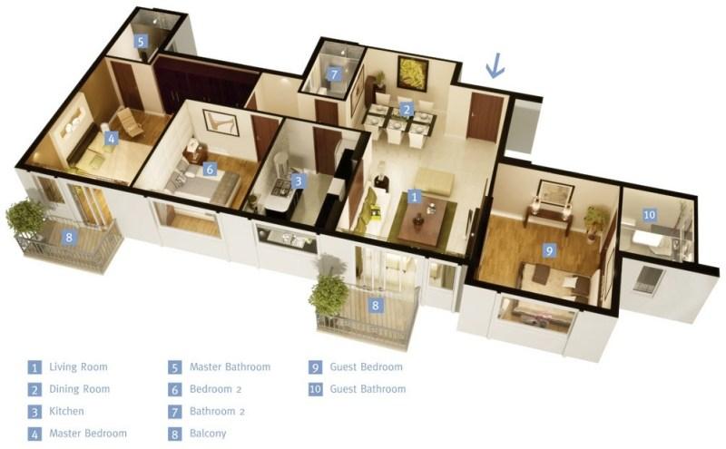 2 Bedroom Bathroom Single Story House Plans   memsaheb.net