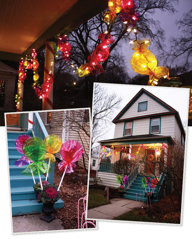 Top 46 Outdoor Christmas Lighting Ideas Illuminate The ... on Patio Decorating Ideas With Lights  id=34067
