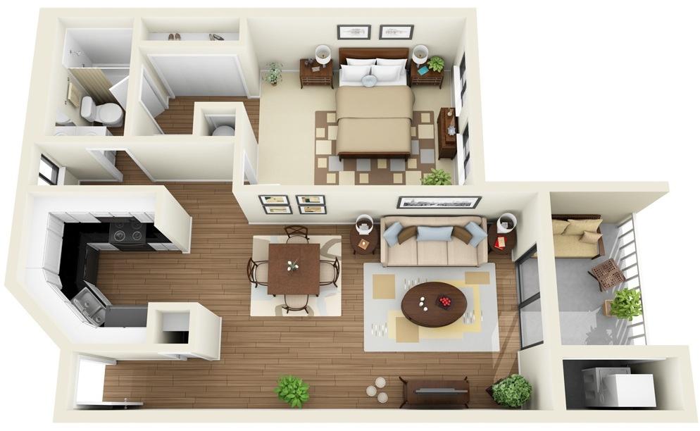 Modern 11 Bedroom Apartment Interior Design - Novocom.top