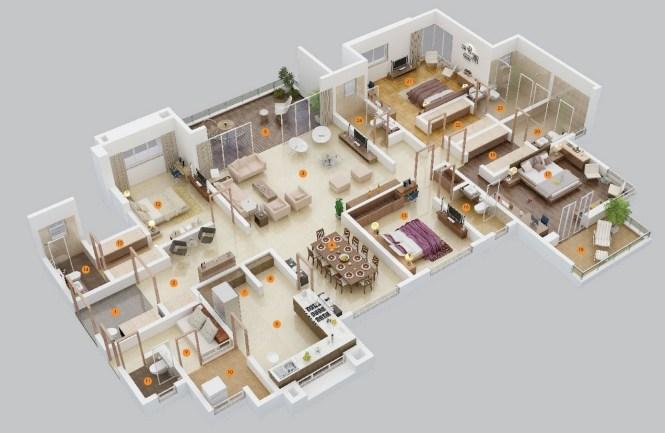 4 Apartment Layout Ideas 1