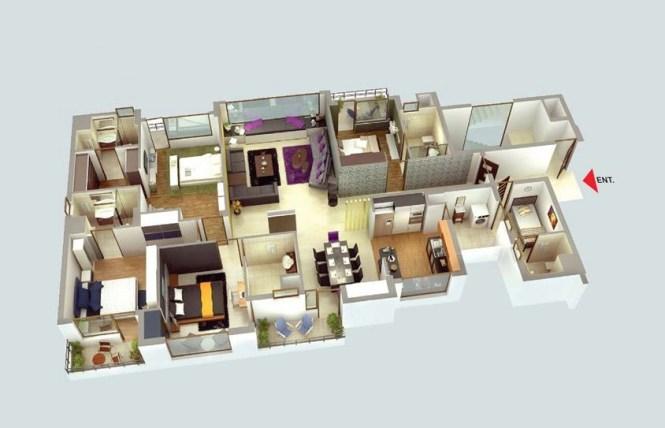 42 Luxury Four Bedroom
