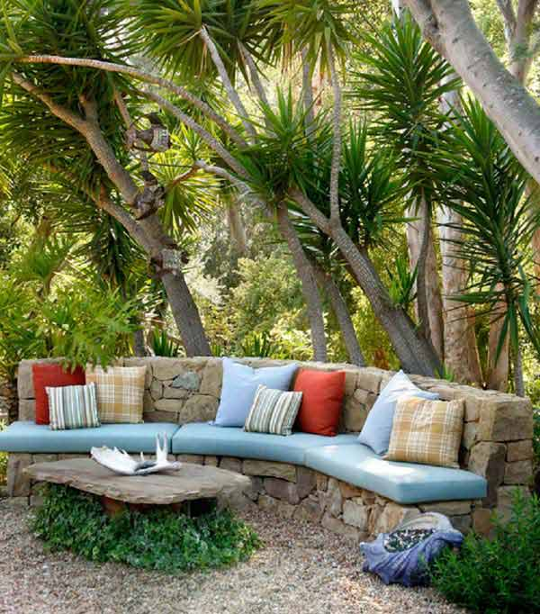 26 Fabulous Garden Decorating Ideas with Rocks and Stones ... on Rock Decorating Ideas  id=63692