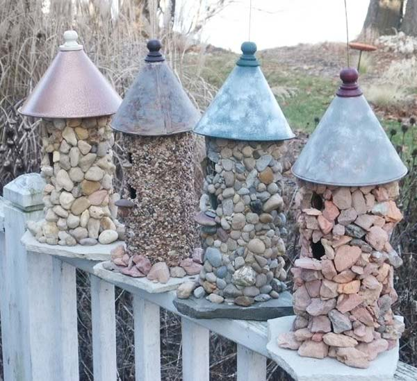 26 Fabulous Garden Decorating Ideas with Rocks and Stones ... on Rock Decorating Ideas  id=25406