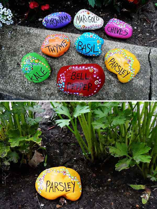 26 Fabulous Garden Decorating Ideas with Rocks and Stones ... on Rock Decorating Ideas  id=97540