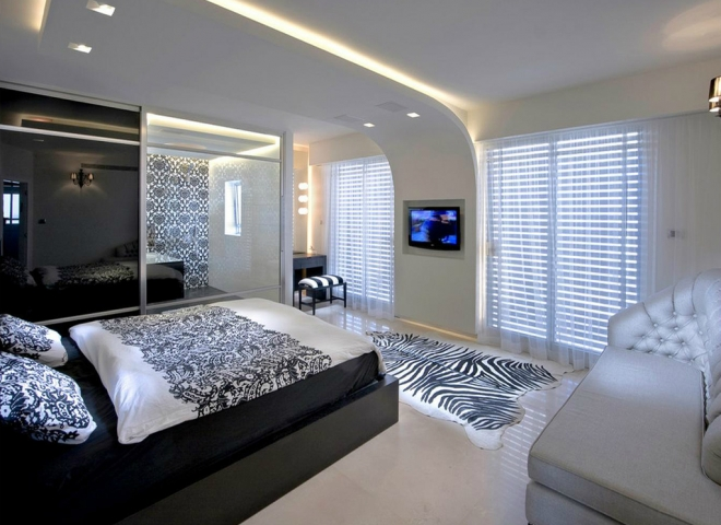 6 Innovative Ceiling Design Gives This Minimalist Bedroom