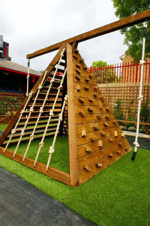 25 Playful DIY Backyard Projects To Surprise Your Kids ... on Diy Backyard Remodel  id=49803