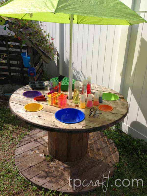 25 Playful DIY Backyard Projects To Surprise Your Kids ... on Diy Backyard Remodel  id=81543