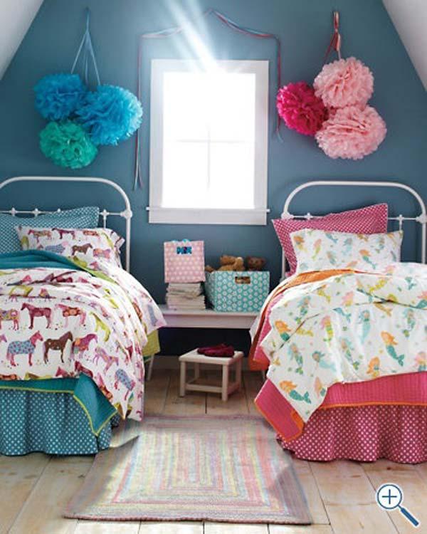 20+ Brilliant Ideas For Boy & Girl Shared Bedroom ... on Bedroom Ideas For Girls Small Room  id=89846