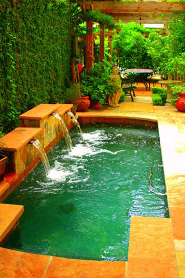25+ Fabulous Small Backyard Designs with Swimming Pool ... on Backyard:uuezyx-Hy-8= Landscape Design  id=47025