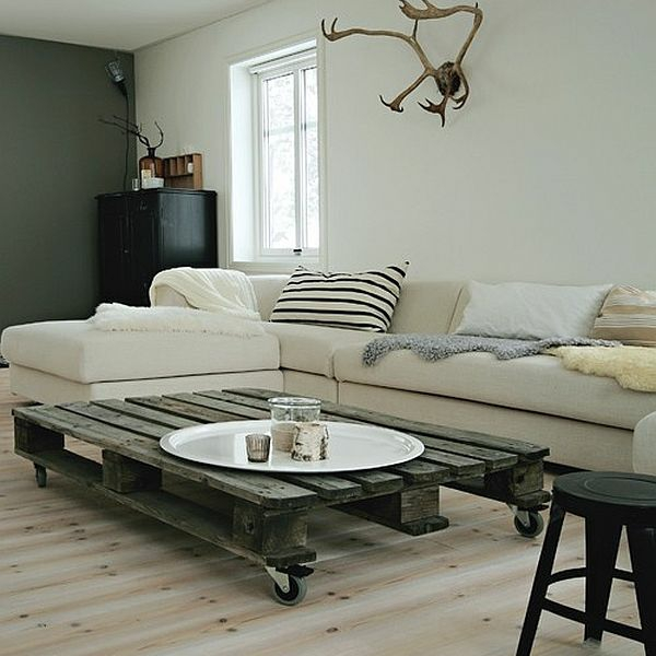 30 Cool Ideas For Homemade Wooden Pallets Furniture ... on Pallet Room  id=49389