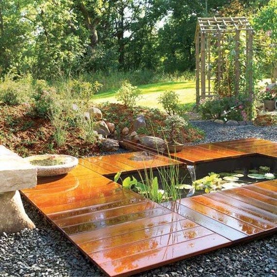 30 Beautiful Backyard Ponds And Water Garden Ideas ... on Backyard Pond Landscaping Ideas  id=86921