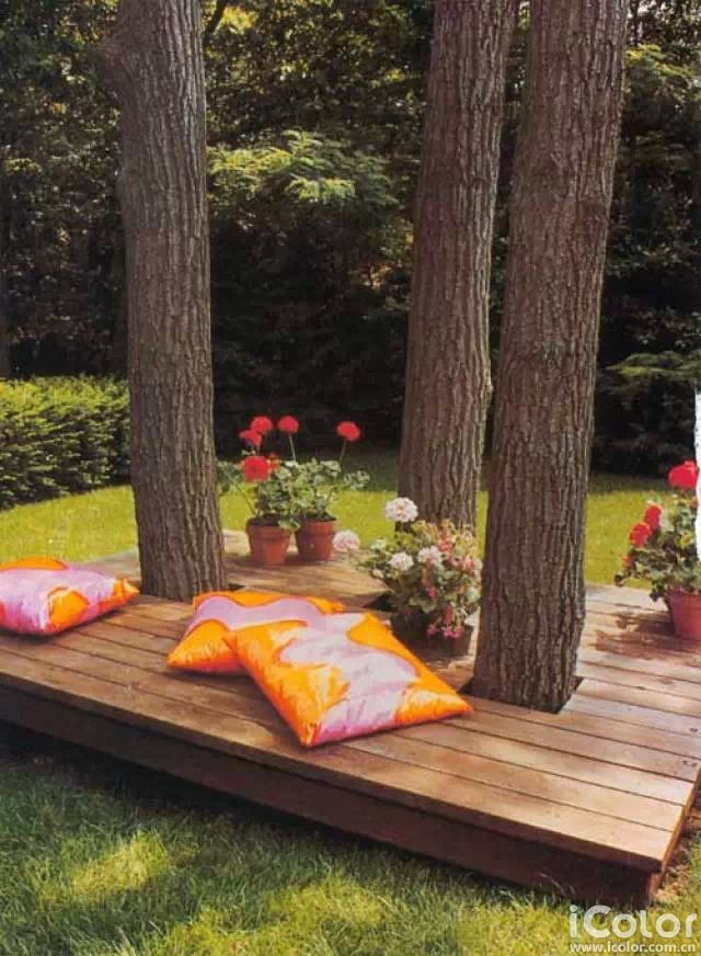 25+ Awesome Outside Seating Ideas You Can Make with ... on Back Garden Seating Area Ideas id=12656