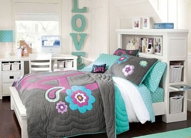 15+ Fantastic Bedrooms For Chic Teen Girls | Architecture ... on Teen Room Girl  id=53351