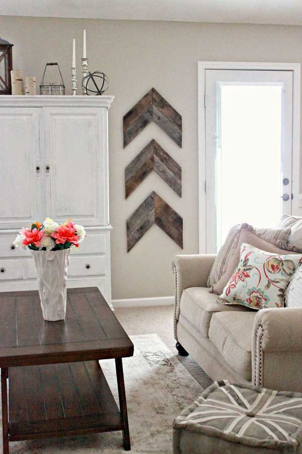 20+ Recycled Pallet Wall Art Ideas for Enhancing Your Interior on Pinterest Wall Decor  id=55896