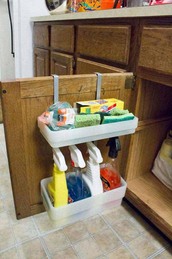 cabinet door organizers bathroom | my web value