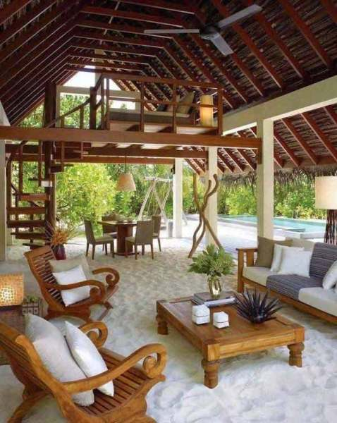 outdoor living patio ideas 25+ Awesome Beach-Style Outdoor Living Ideas For Your