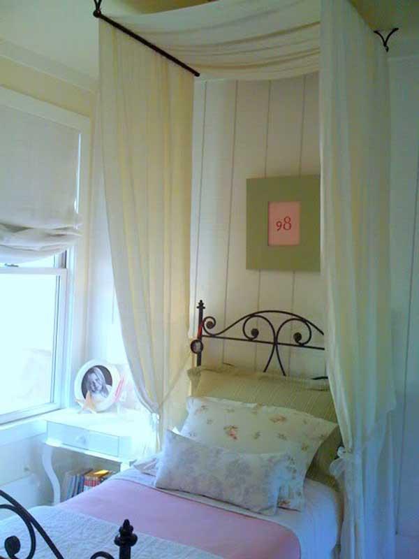 20 Magical DIY Bed Canopy Ideas Will Make You Sleep ... on Cheap:l2Opoiauzas= Bedroom Ideas  id=45289